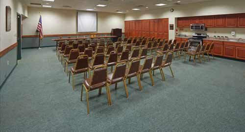 Pittsburgh Shrine Center meeting room