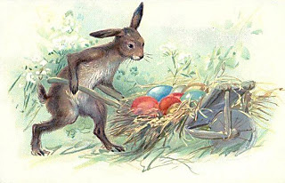 Easter bunny 19th century