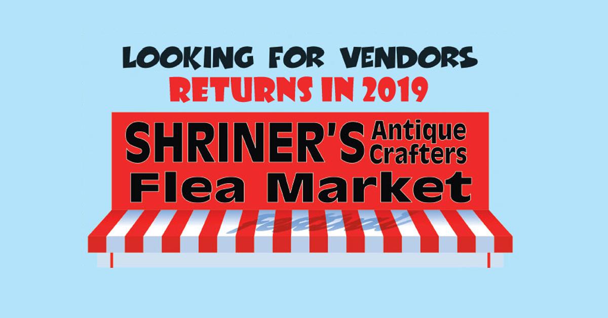 2019 shriners flea market