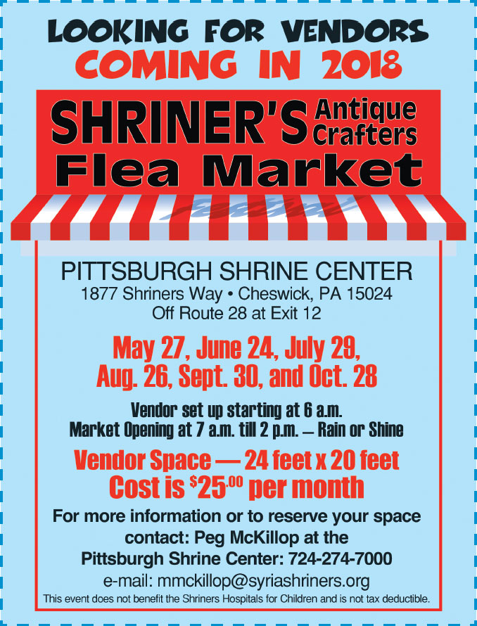 syria shriners flea market